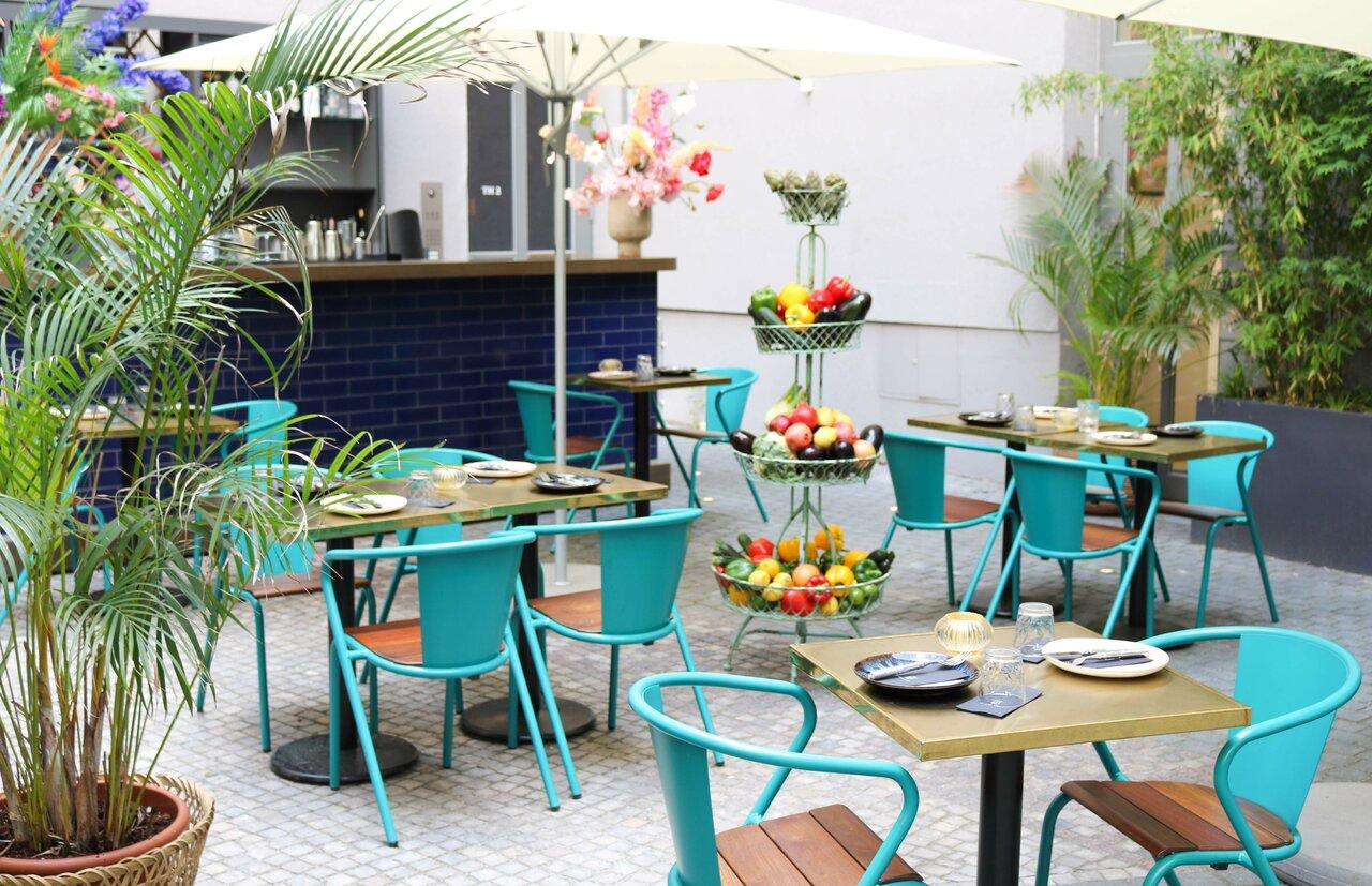 Joseph Restaurant Garten Terrasse